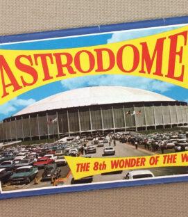 Astrodome Postcard Book