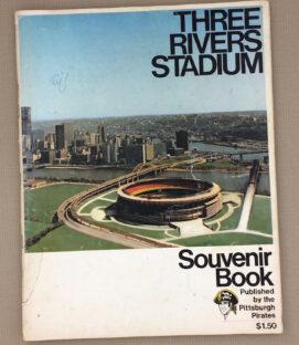 1970 Three Rivers Stadium Souvenir Book