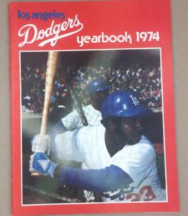 Los Angeles Dodgers 1974 Yearbook