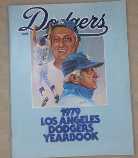 Los Angeles Dodgers 1979 Yearbook