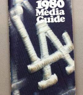 Los Angeles Dodgers 1980 Media Guide