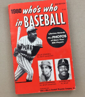 Who's Who In Baseball 1980