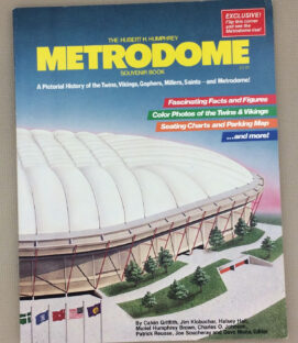 Metrodome Souvenir Book