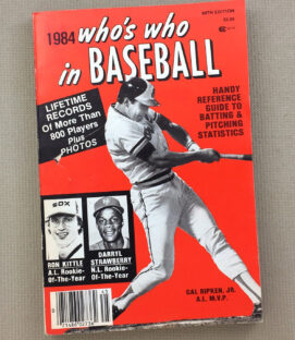 Who's Who In Baseball 1984