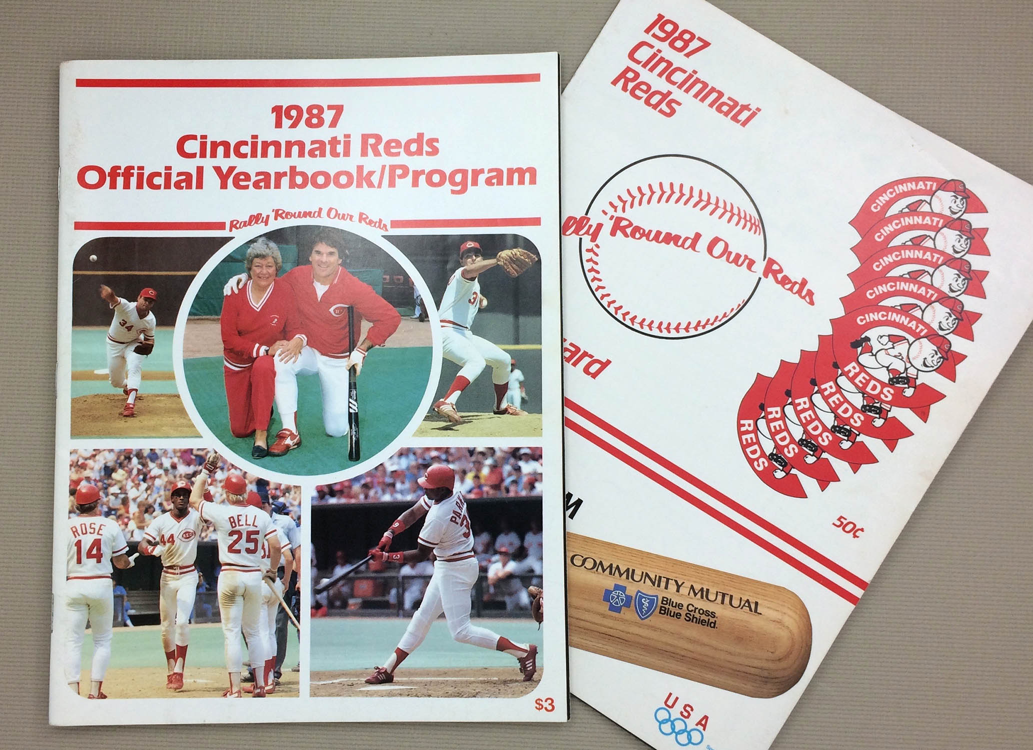 Cincinnati Reds 1987 Program