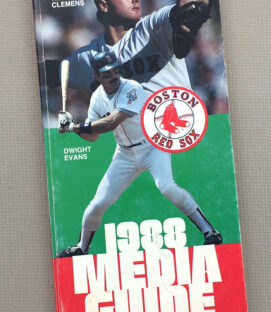 1988 Boston Red Sox Media Guide