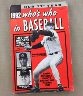 Who's Who In Baseball 1992