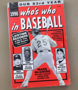 Who's Who In Baseball 1998