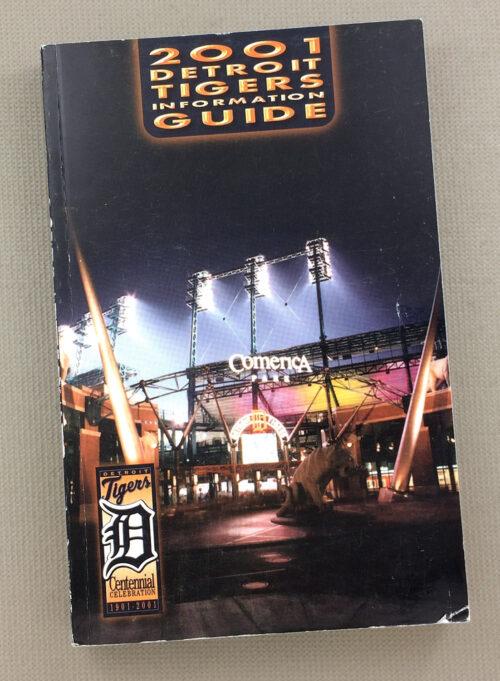 Detroit Tigers 2001 Media Guide