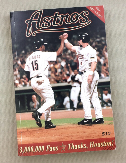Houston Astros 2001 Media Guide