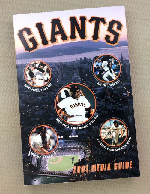 San Francisco Giants 2001 Media Guide