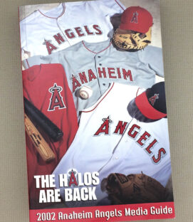 2002 Anaheim Angels Media Guide