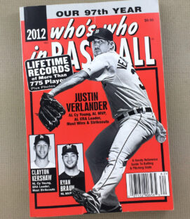 Who's Who in Baseball 2012 Guide