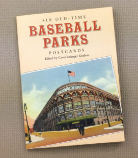 Old Time Baseball Park Postcard Book