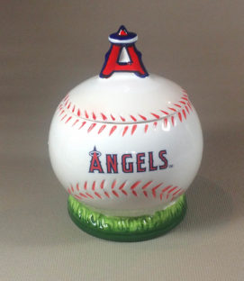 Los Angeles Angels Cookie Jar