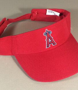 Los Angeles Angels Red Visor