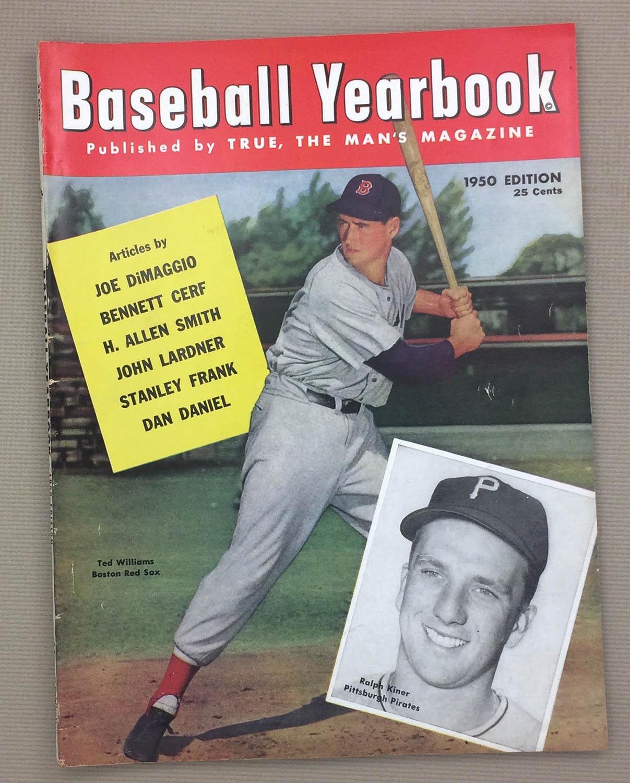1950 Baseball Yearbook Magazine