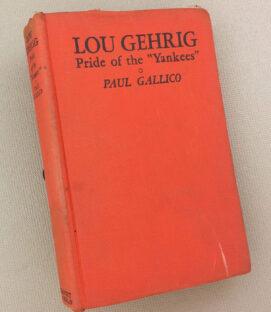 """Lou Gehrig Pride of the """"Yankees"""""""