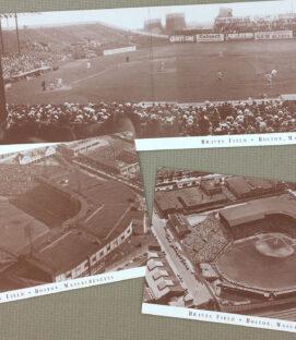 Braves Field Postcard Set