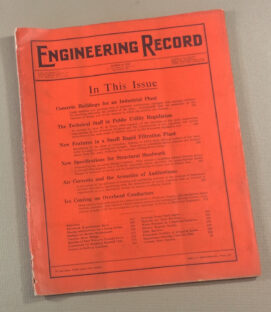 1913 Issue of Engineering Record