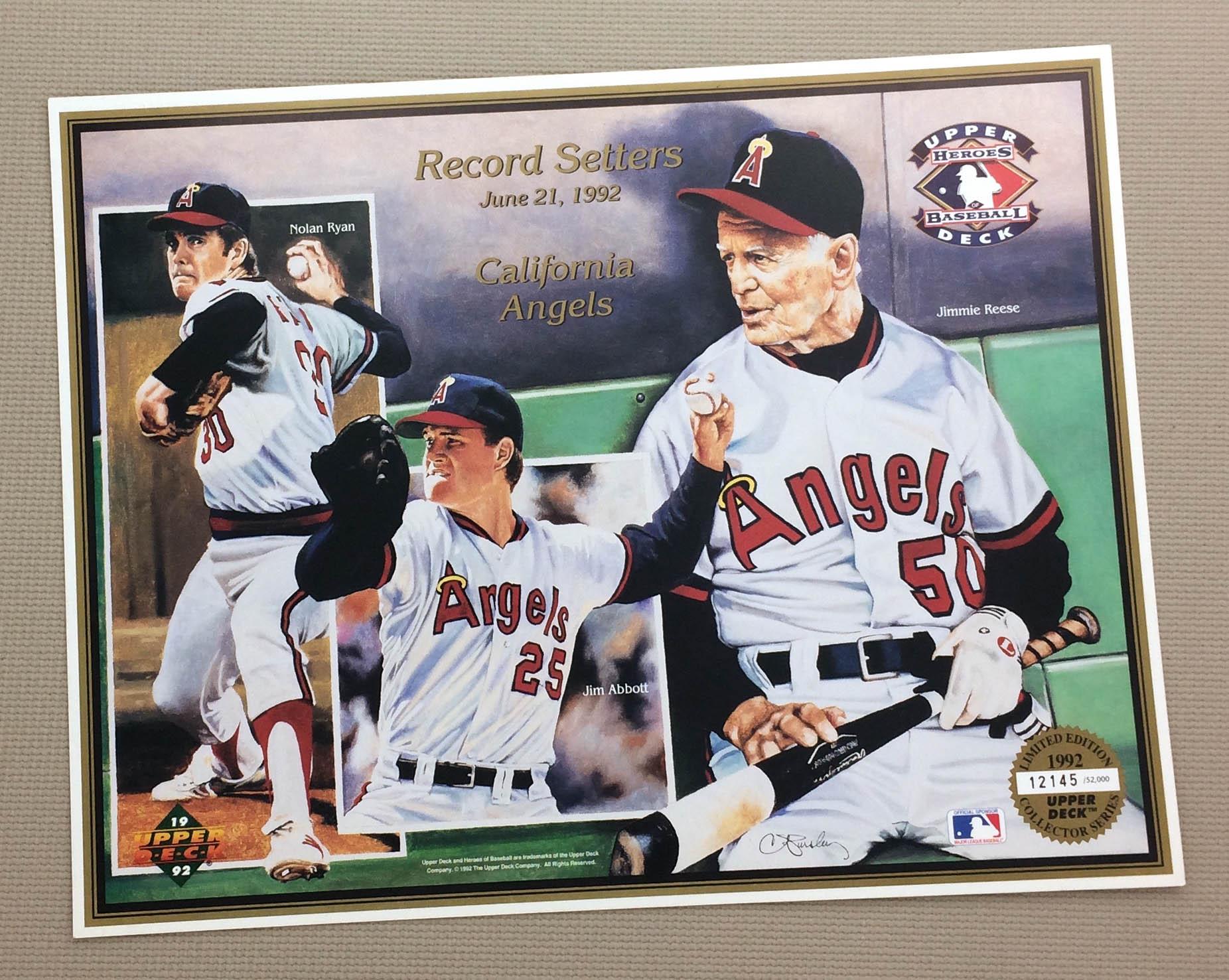 California Angels 1992 Record Setters