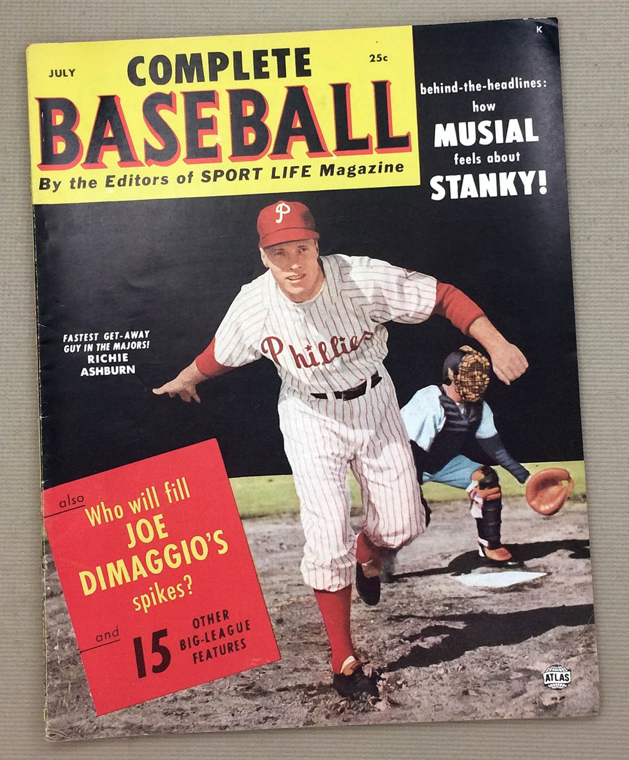 Complete Baseball July 1952 Issue