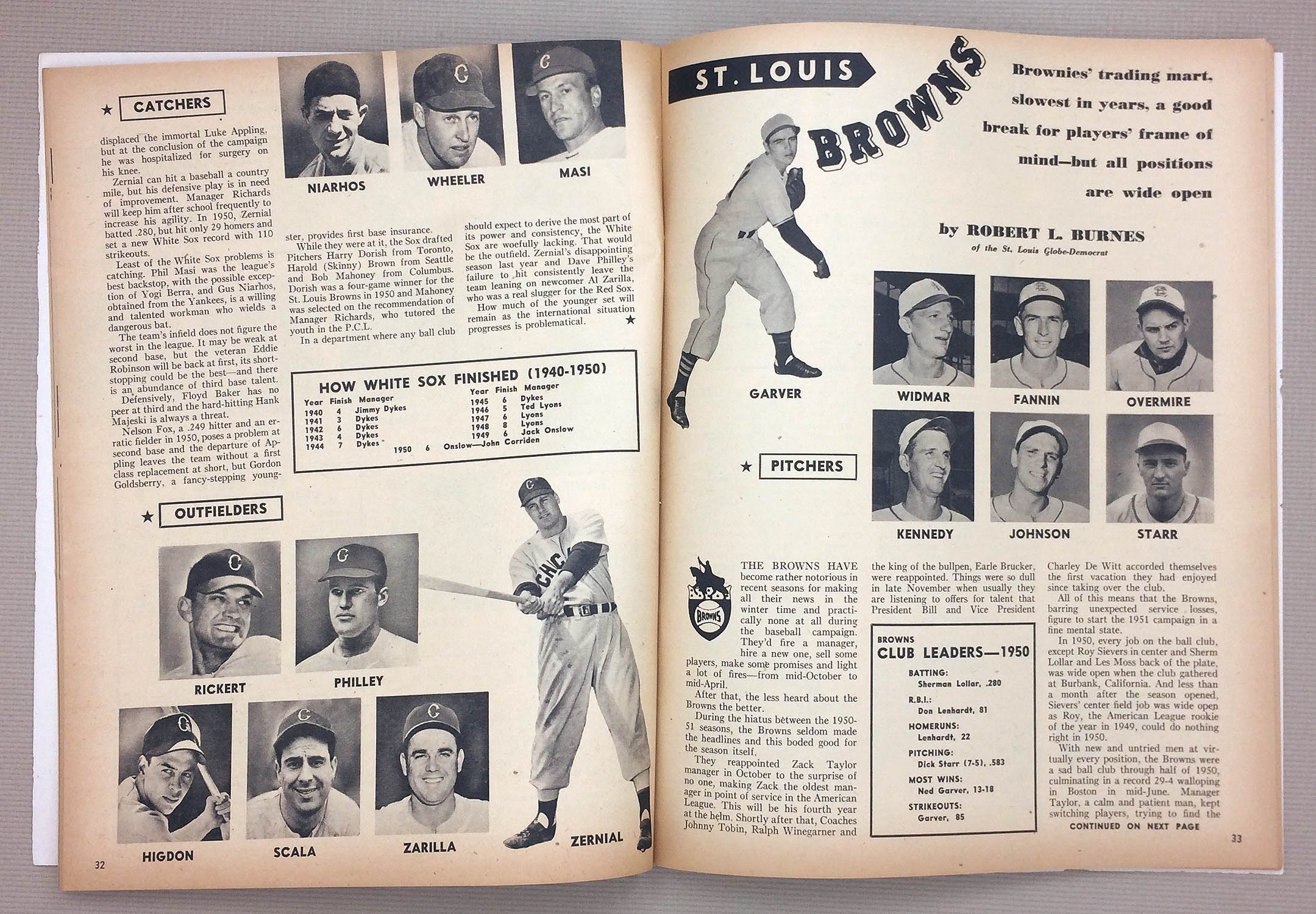 St Louis Browns 1951