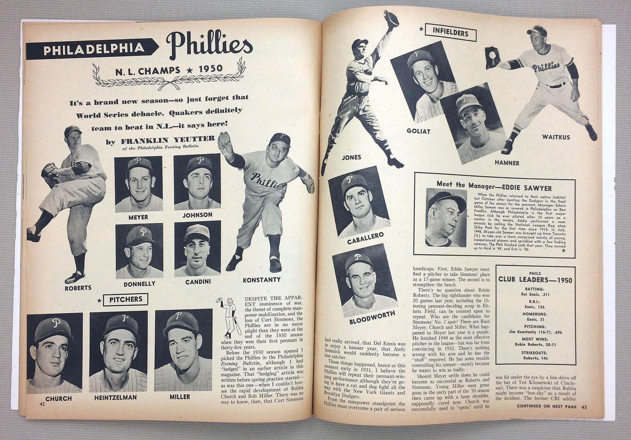 Philadelphia Phillies 1951