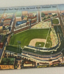Vintage Crosley Field Postcard