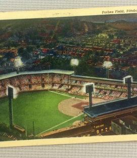 Vintage Forbes Field Postcard