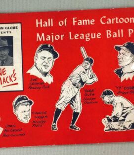 Gene Macks Ballpark Cartoon Book