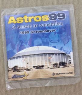 Houston Astros 1999 Screen Saver