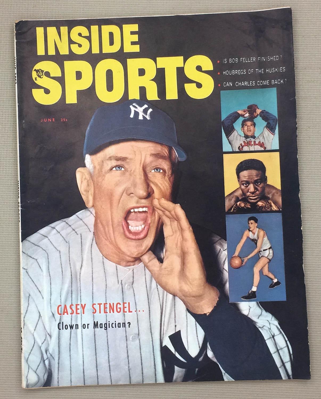 Inside Sports Magazine June 1953