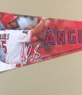 Los Angeles Angels Albert Pujols Pennant