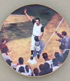 Bill Mazeroski Home Run Collectors Plate