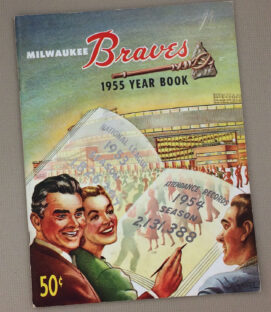 Milwaukee Braves 1955 Yearbook