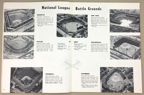 National League Ballparks 1955