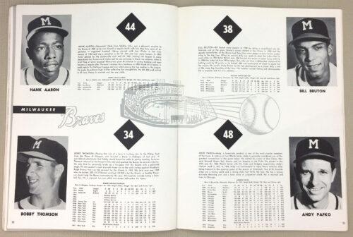 Hank Aaron Milwaukee Braves