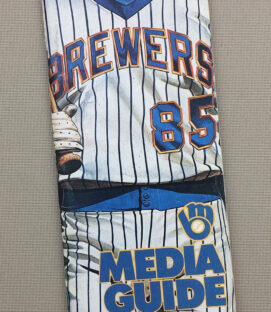 Milwaukee Brewers 1985 Media Guide