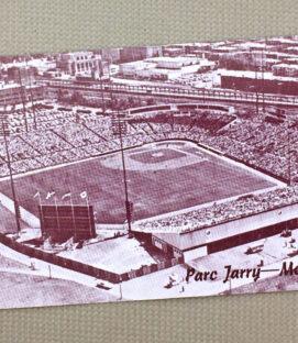 Montreal Jarry Park Postcard