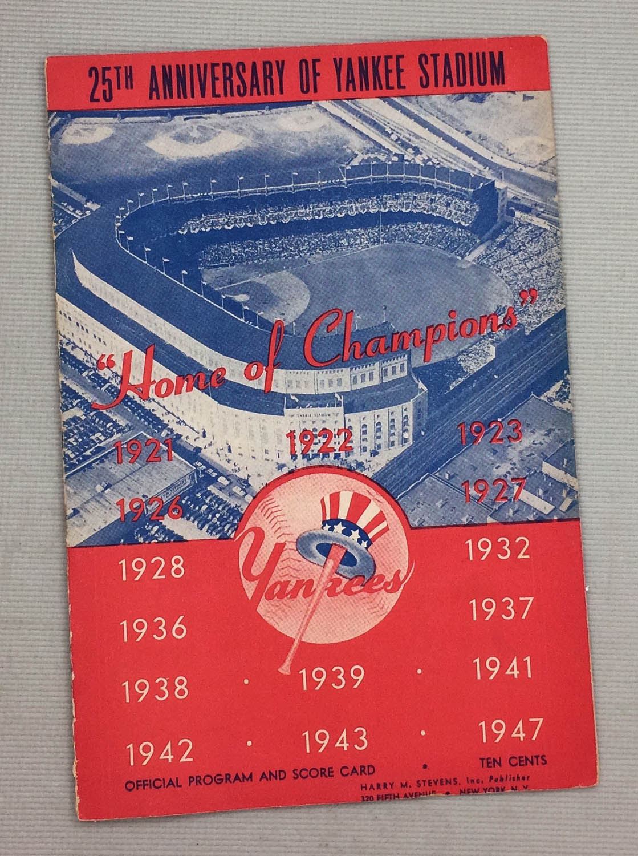 New York Yankees 1947 Program