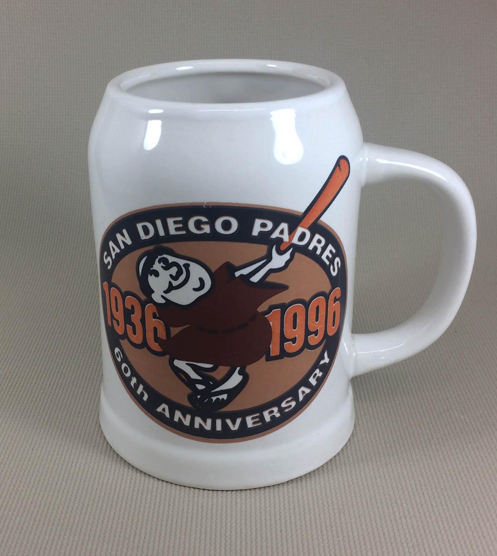 San Diego Padres 60th Anniversary Mug