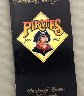 Pittsburgh Pirates 1987 Media Guide