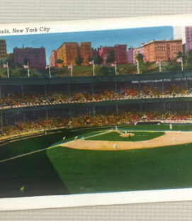 Vintage Polo Grounds Postcard K2035