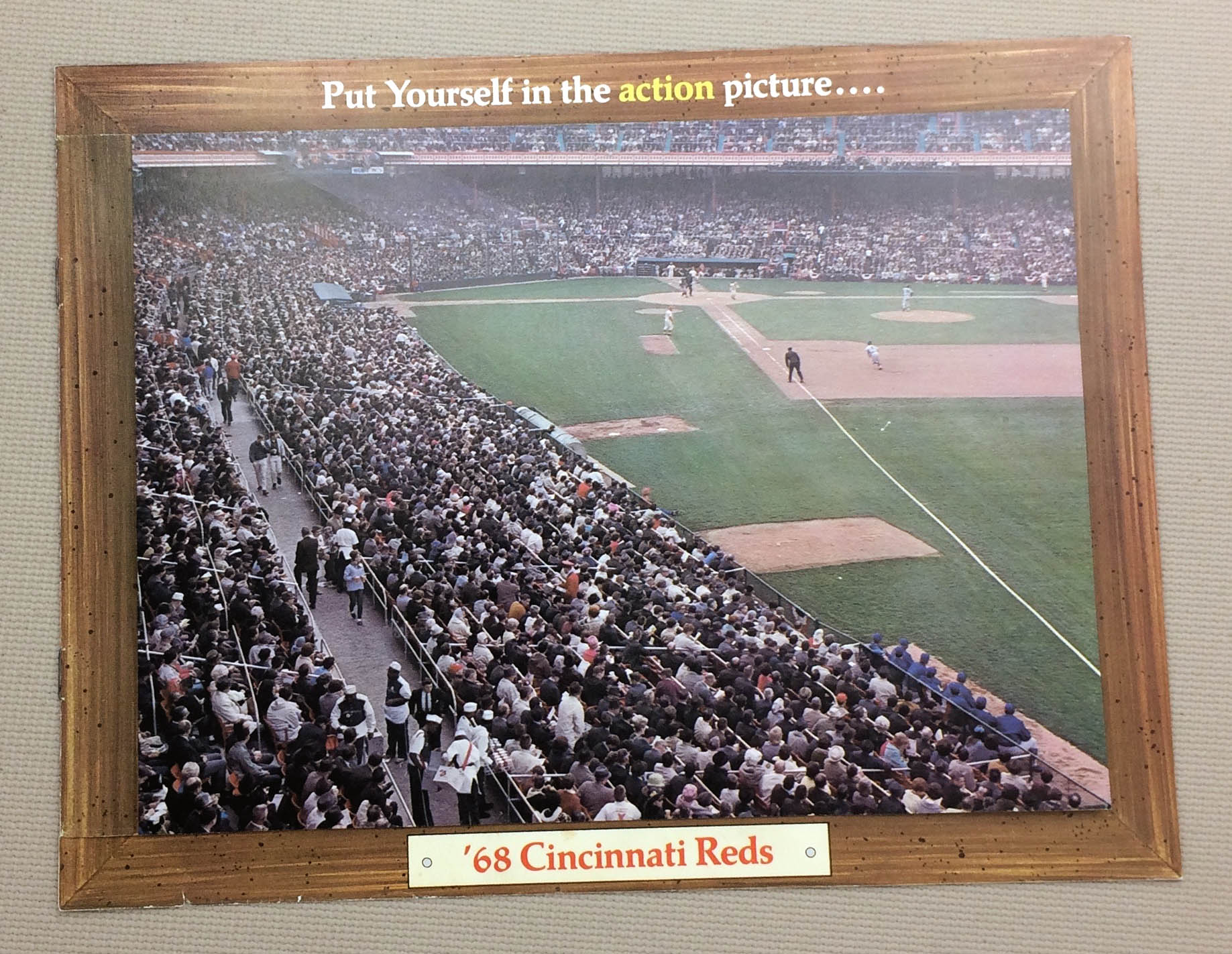 Cincinnati Reds 1968 Ticket Brochure