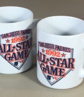 Padres 1992 All Star Game Mugs