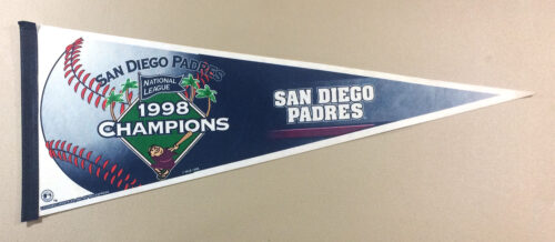 San Diego Padres 1998 NL Champs Pennant