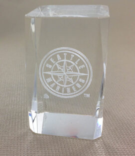 Seattle Mariners Logo Crystal