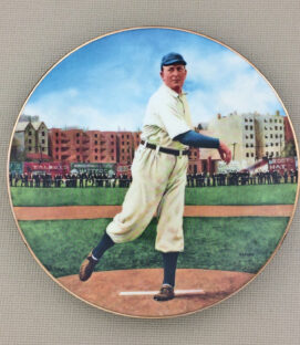 Cy Young Collectors Plate