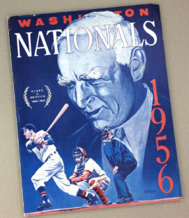 Washington Nationals 1956 Yearbook